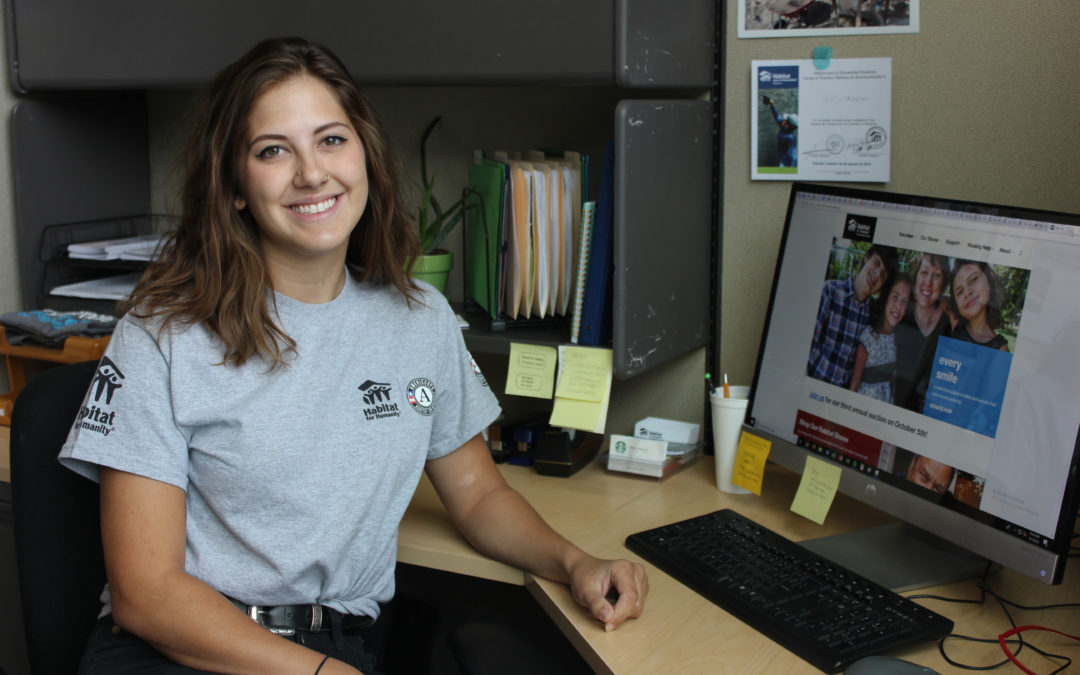 AmeriCorps Profile- Shelby Brewster