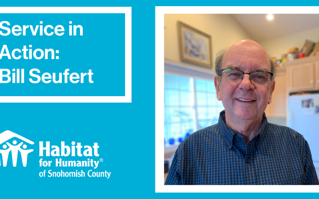 Volunteer Spotlight: Bill Seufert