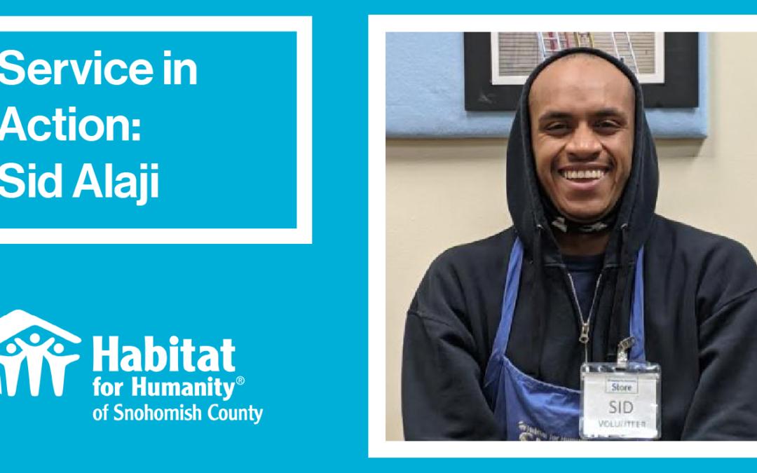 Volunteer Spotlight: Sid Alaji