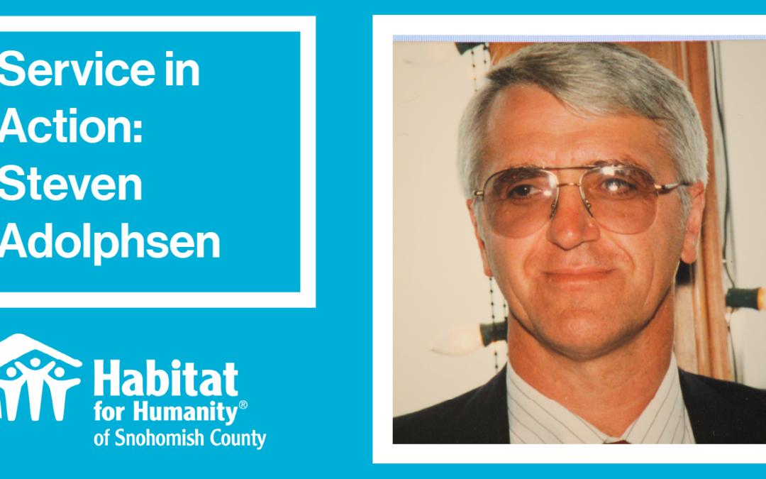 Volunteer Spotlight: Steven Adolphsen