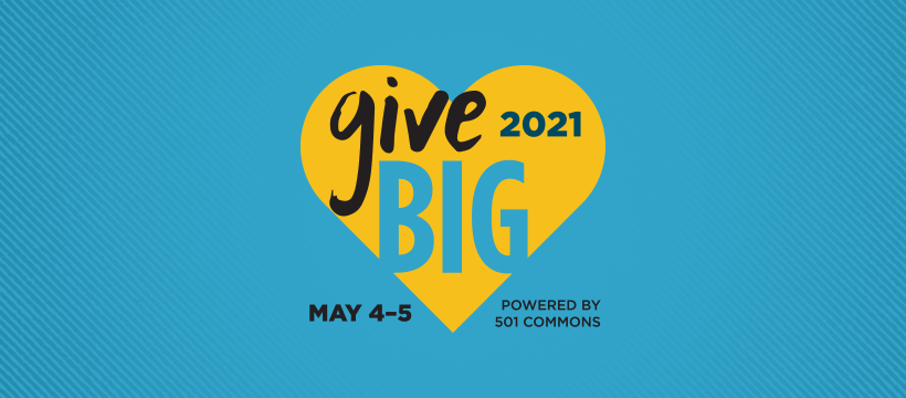 Give Big is here! Help us meet our goal.